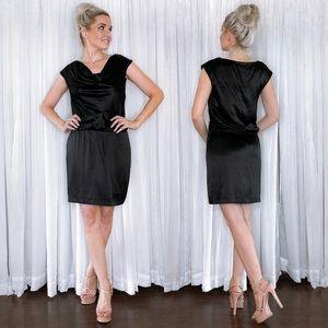 White House Black Market Black Mini Dress